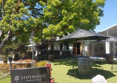 Sidewood deck