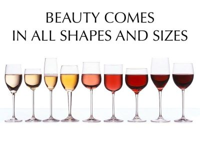 WIne glass shapes and sizes